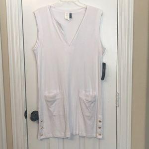 RALPH LAUREN NWT White cover up dress